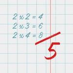 Таблица умножения 1.61